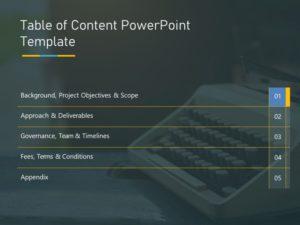 Agenda PowerPoint Template 26