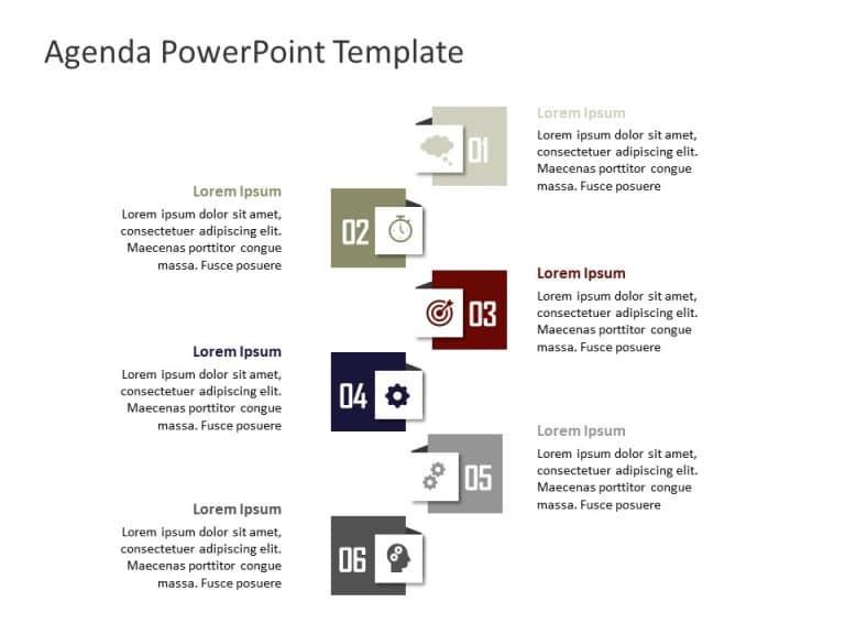 Agenda PowerPoint Template 27