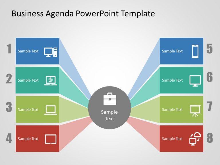 Agenda PowerPoint Template 28