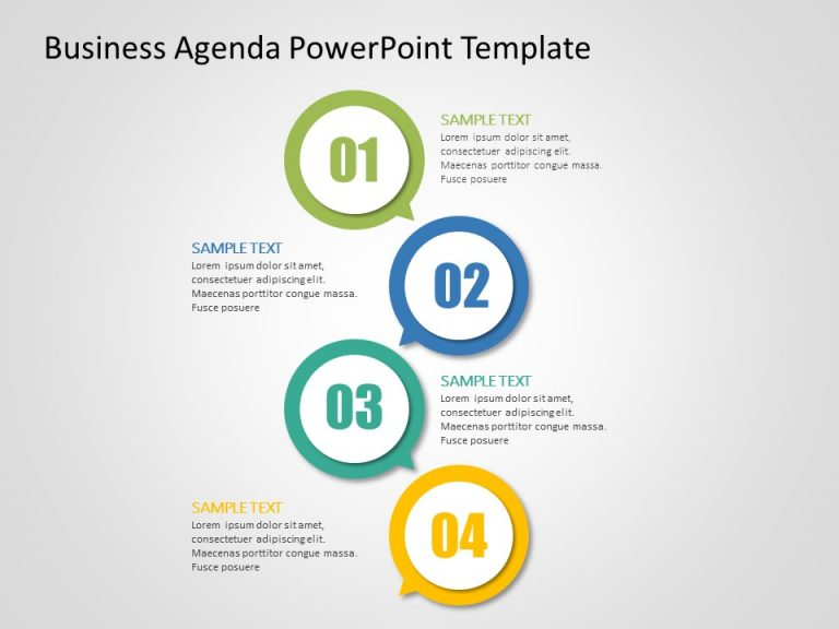 Agenda PowerPoint Template 29
