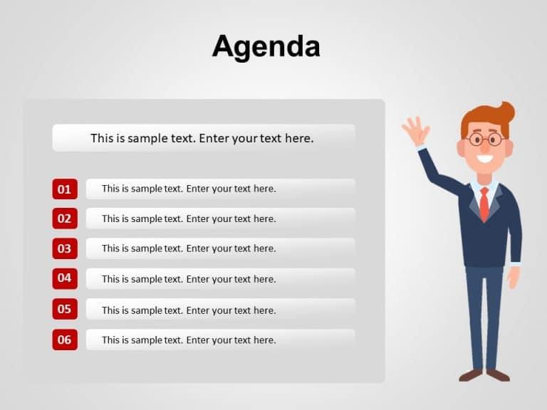 Agenda PowerPoint Template 4