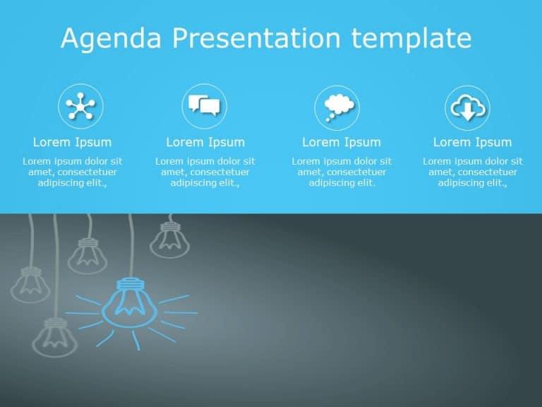 Agenda PowerPoint Template 7