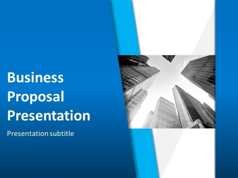 Animated Business Proposal Template