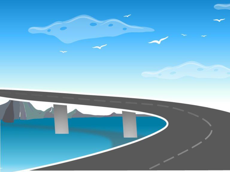Animated Roadmap Bridge