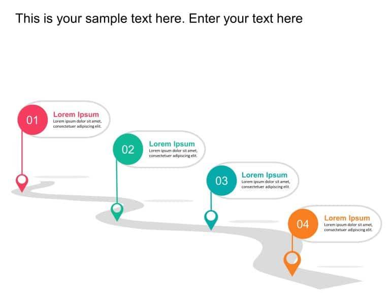 Animated Roadmap Template
