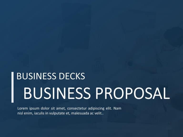 Business Proposal Deck 1
