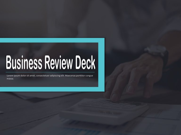 Business Review Deck