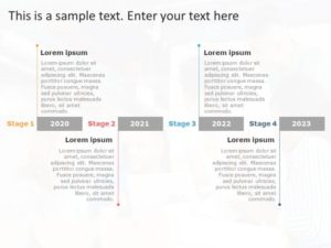 Business Roadmap PowerPoint Template 42