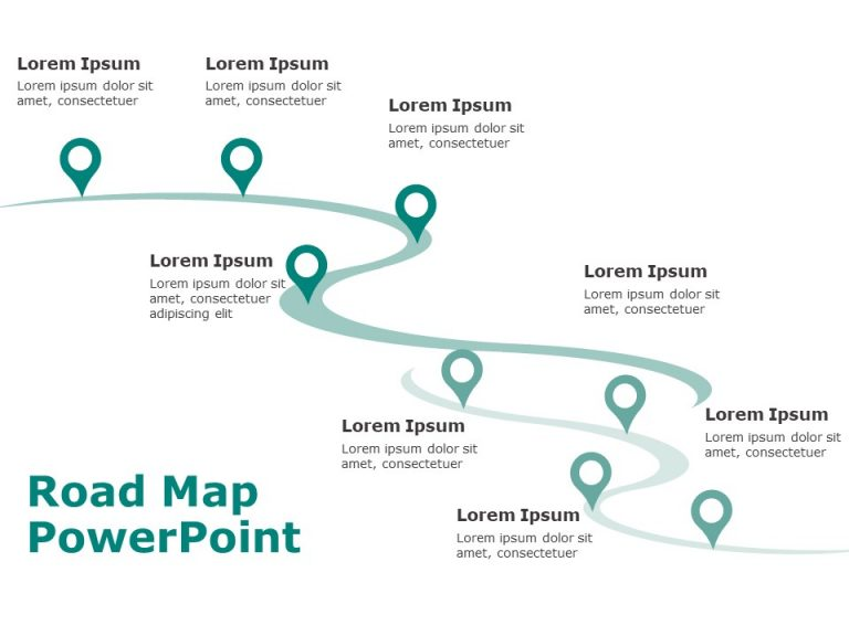 Business Roadmap Template 3