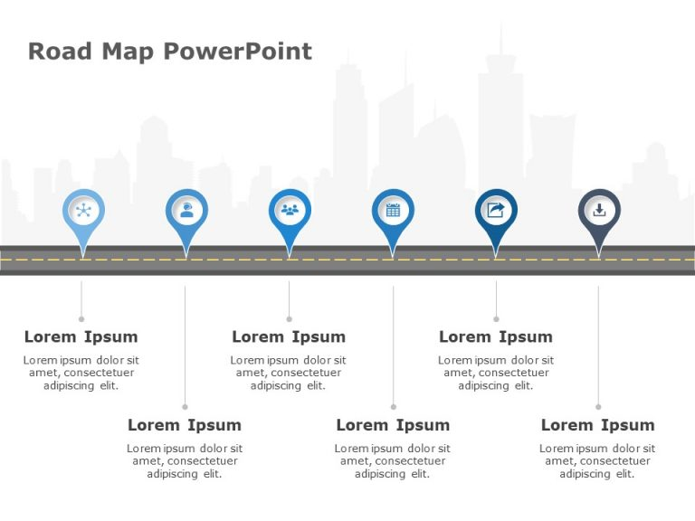 Business Roadmap Template 4