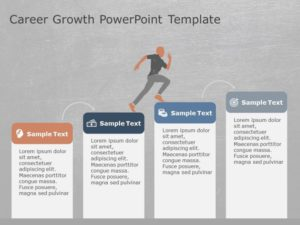 Career Growth PowerPoint Template 1