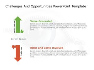 Challenges & Opportunities PowerPoint Template