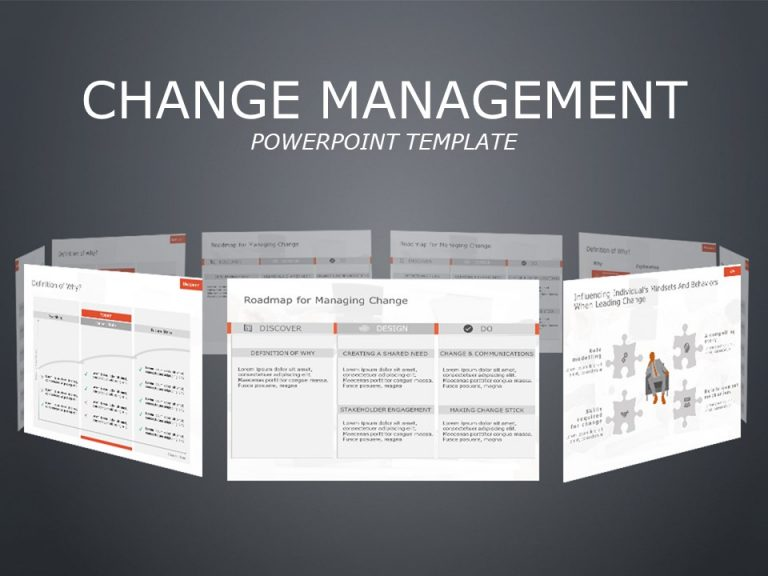 Change Management PowerPoint Theme