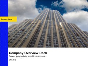 Company Overview Deck
