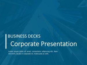 Corporate Presentation PPT Theme