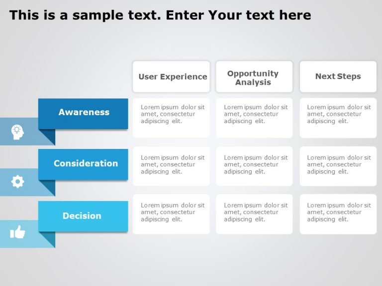 Customer Journey Analysis PowerPoint Template 1