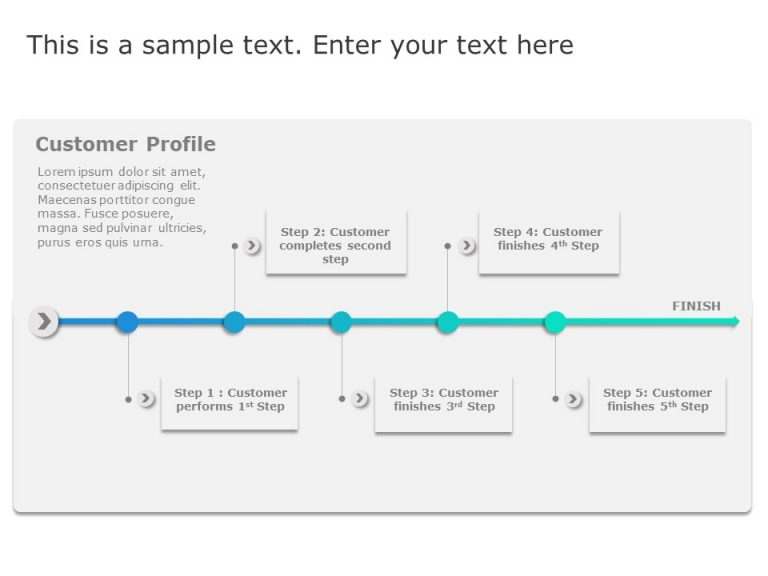 Customer Journey Steps PowerPoint 1