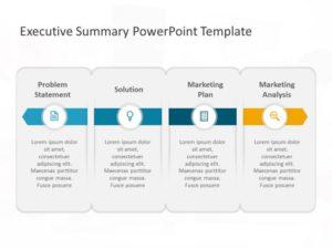 Executive Summary PowerPoint Template 34