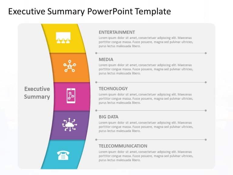 Executive Summary PowerPoint Template 37