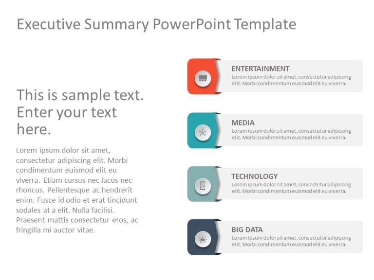 Executive Summary PowerPoint Template 42