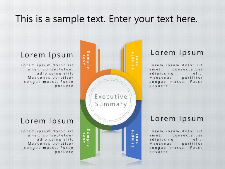 Executive Summary PowerPoint Template 54