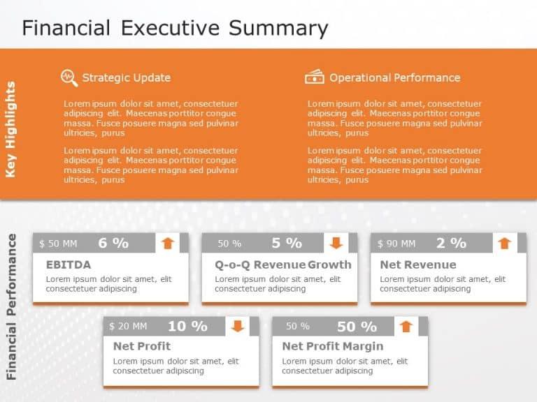 Financial Executive Summary 1