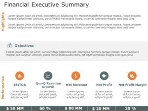 Financial Executive Summary 2