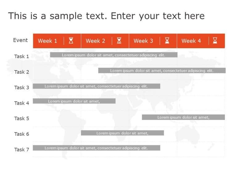 Gantt Chart PowerPoint Template 5