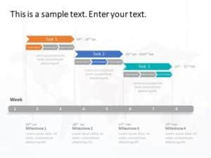 Gantt Chart PowerPoint Template 7
