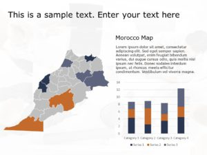 Morocco Map PowerPoint 1