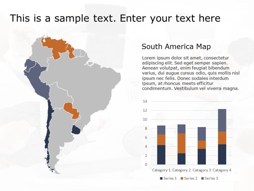 South America PowerPoint Template 1