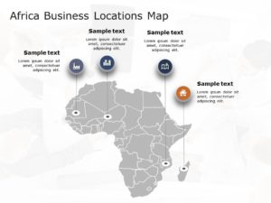 Africa Map PowerPoint Template 2