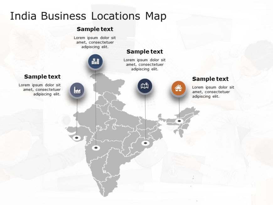India Map Powerpoint Template 2