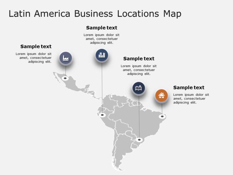 Latin America Powerpoint Template 1