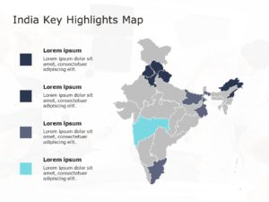 India Map Powerpoint Template 1