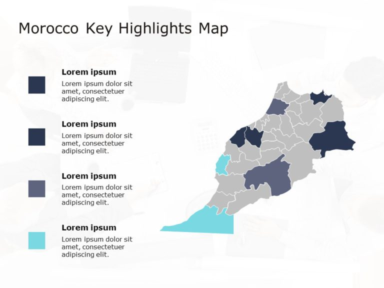 Morocco Map PowerPoint 6