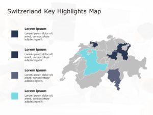 Switzerland Map PowerPoint Template 1