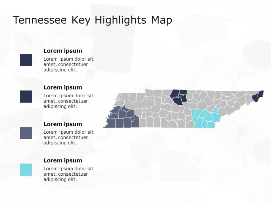 Tennessee Map PowerPoint 5