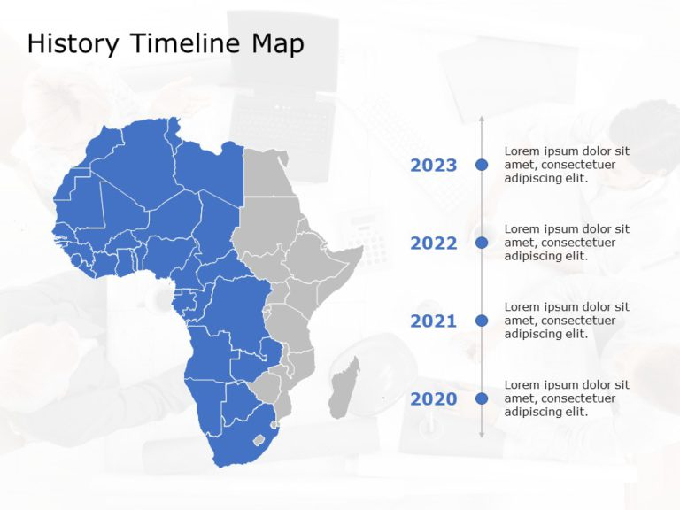 Africa Map PowerPoint Template 7