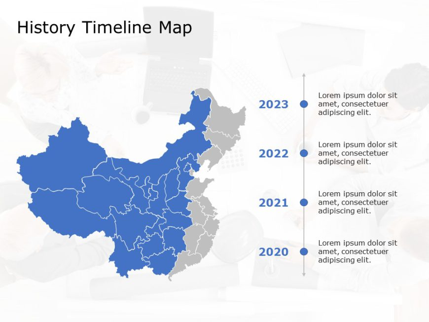 China Map PowerPoint Template 2
