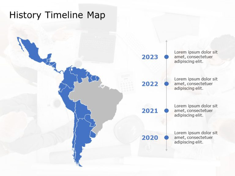 Latin America Powerpoint Template 4