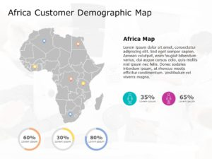 Africa Map PowerPoint Template 8