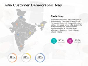 India Map Powerpoint Template 6