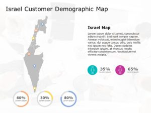 Israel Map Powerpoint Template 6