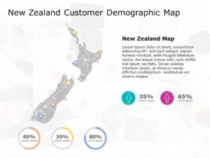 New Zealand Map PowerPoint Template 4