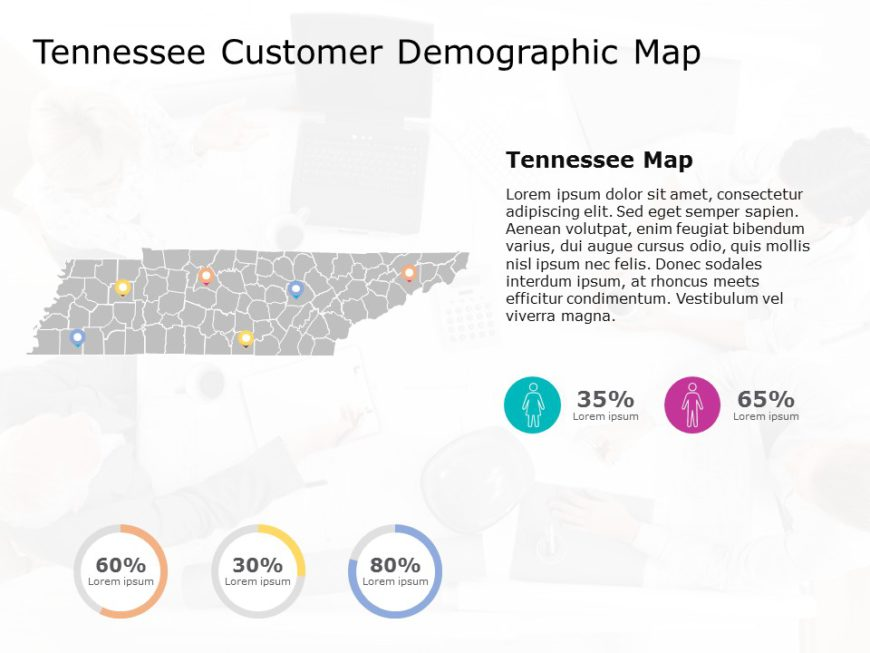 Tennessee Map PowerPoint 3