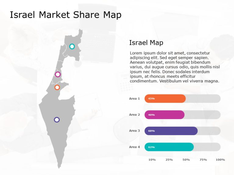 Israel Map Powerpoint Template 8