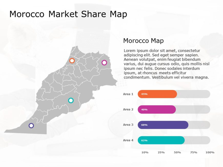 Morocco Map PowerPoint 2
