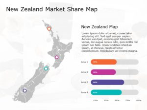 New Zealand Map PowerPoint Template 2