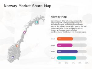Norway Map PowerPoint Template 3